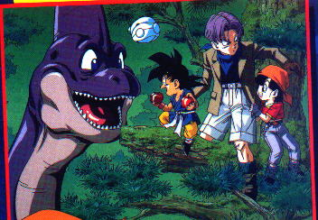 Trunks, Pan y chibi Gokou