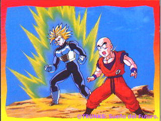 Trunks y Krilin again