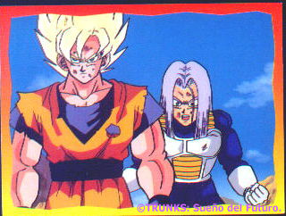 Gokou y Trunks