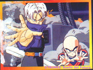 Trunks y Krilin