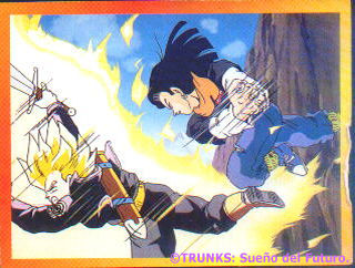 Androide #17 contra Trunks