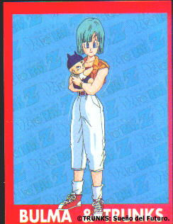 Bulma y bebé Trunks
